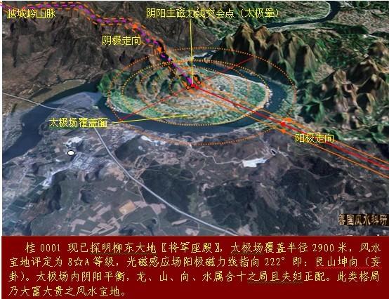 广西风水宝地图示